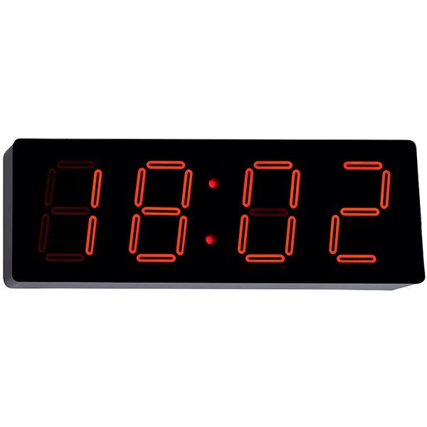 שעון דיגיטלי לקיר ספרות אדומות