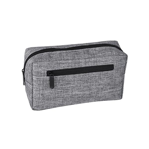 תיק כלי רחצה עם כיס רוכסן בחזית