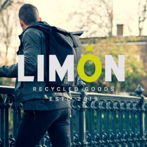 LIMON - מותג תיקי הגב הבינלאומי מלונדון עשוי מחומרים ממוחזרים